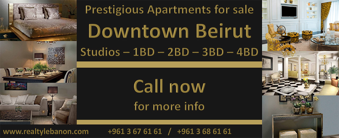 Advertisement Banner in Realty Leabanon