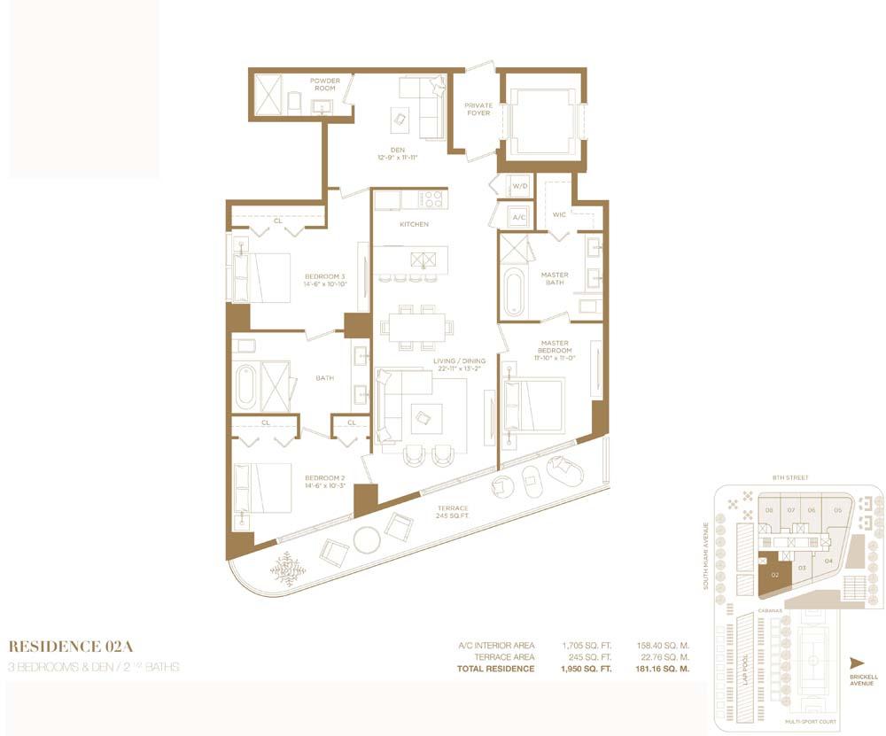 Rl 1720 Apartment For Sale In Miami Brickell