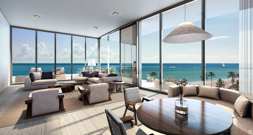 RL 1765 Apartment for Sale in Fort Lauderdale  North Ocean Boulevard      9 300 000. RL 1765 Apartment for Sale in Fort Lauderdale  North Ocean