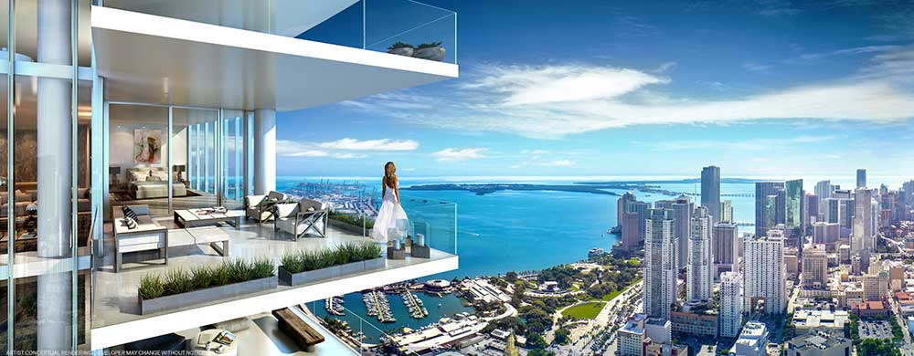 Captivating RL 1864 Apartment For Sale In Miami, Downtown   $ 750,000 ...