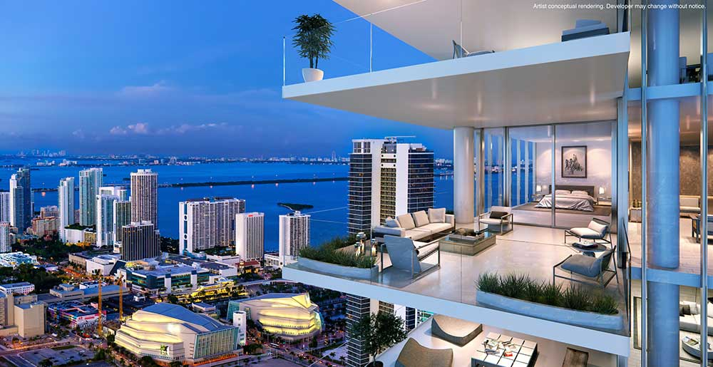 RL-1867 Apartment for Sale in Miami, Downtown - $ 960,360 ...