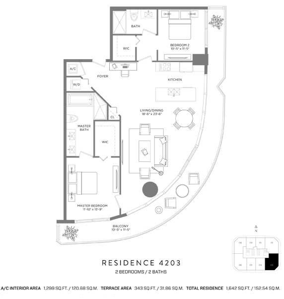 RL-1922 Apartment For Sale In Miami, Brickell