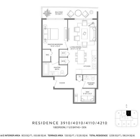 RL-1919 Apartment For Sale In Miami, Brickell