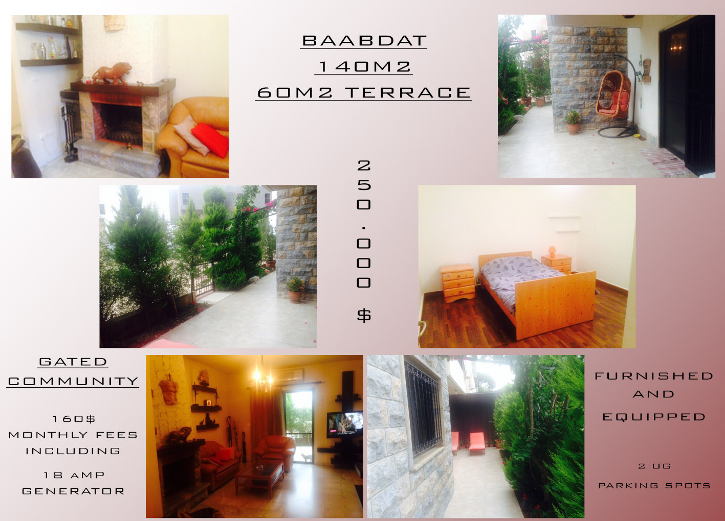 Apartment for sale in Baabdat, Metn, Lebanon