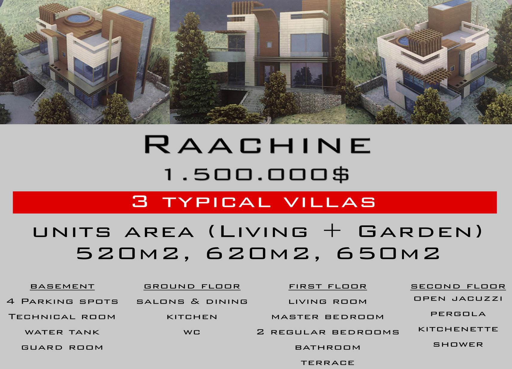 Villa, Sale, Raachine, Keserwan, Lebanon