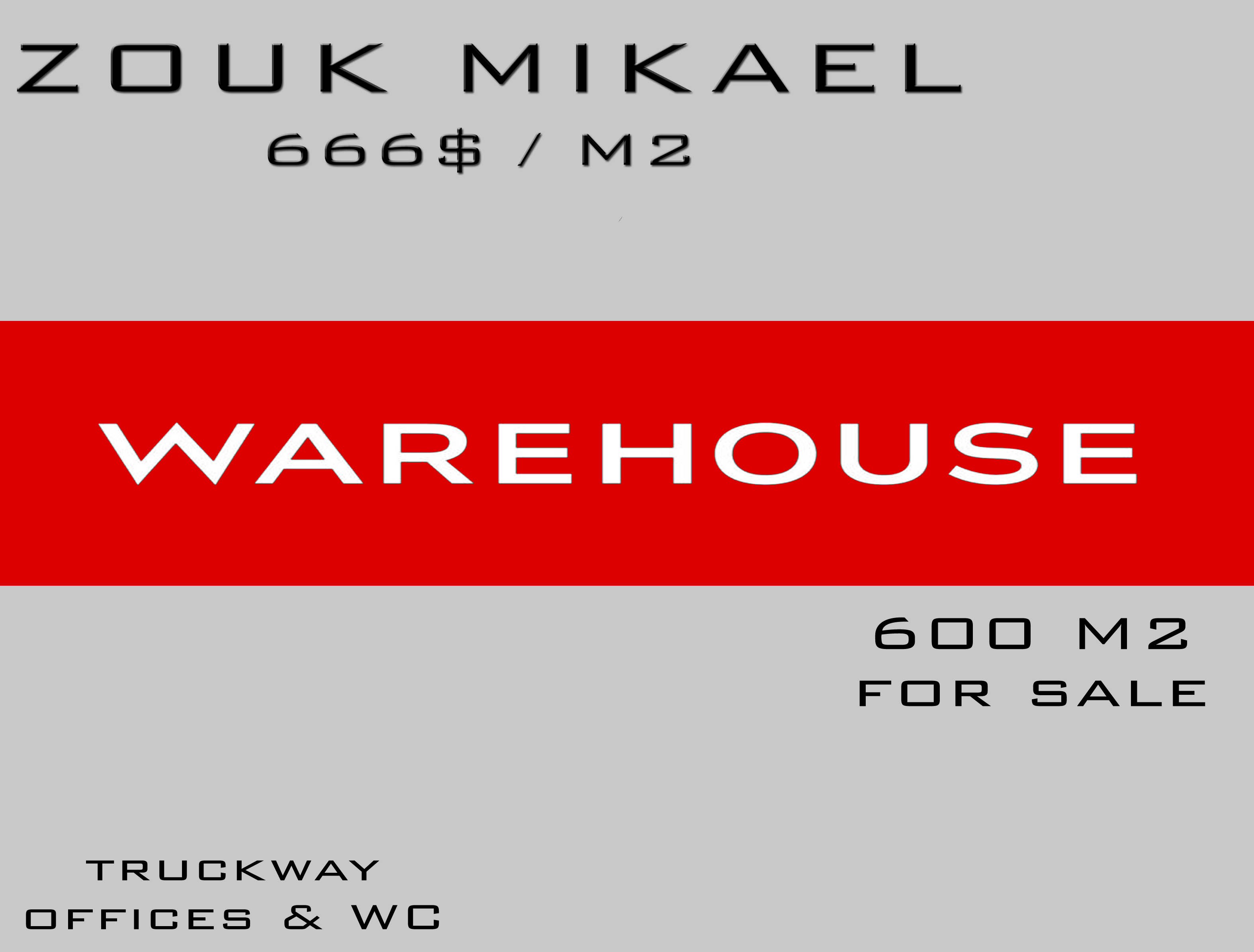 Warehouse for sale in keserwan lebanon - Real estate in lebanon - Buy and sell properties in lebanon