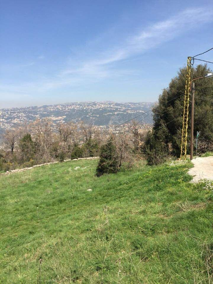 Land for sale in Bikfaya Mhaidseh, Buy sell properties in Bikfaya Mhaidseh, real estate in Bikfaya Mhaidseh