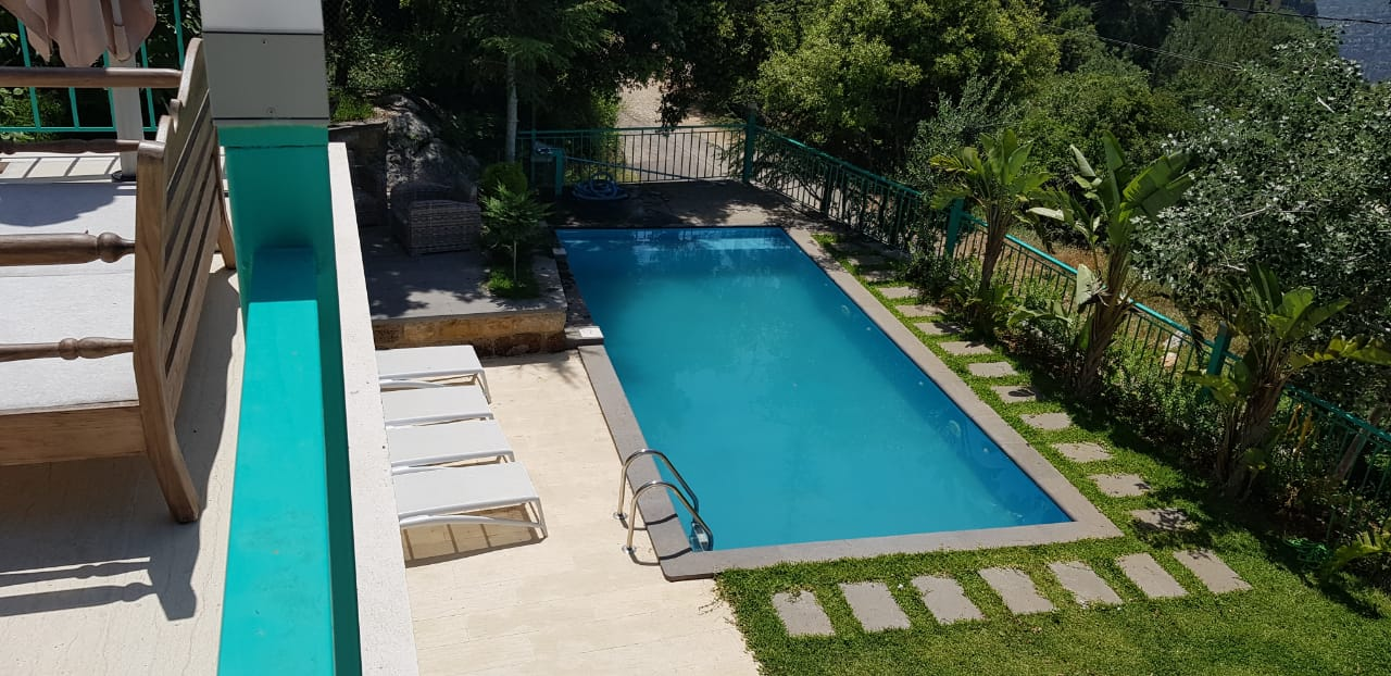 An amazing House with a swimming pool and 1000 SQ.M garden is for sale in Nahr Ibrahim, Buy sell properties in Nahr Ibrahim, Real estate in Lebanon