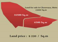 land for sale in chwayya, chouwaya, metn , Lebanon, real estate in Lebanon, lands, apartments, villas for sale and rent in metn